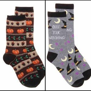 🥀 3/$20 Halloween Fall Thanksgiving Socks Bundle